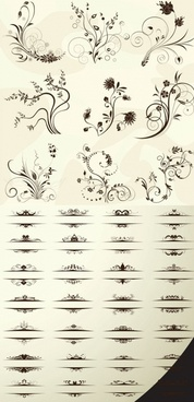european pattern vector
