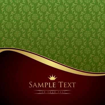 decorative background luxury elegant european repeating curves decor
