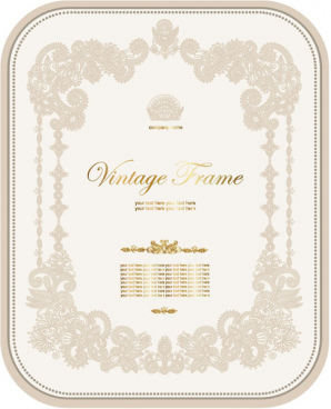 european style decorative pattern certificate template vector free cdr vector