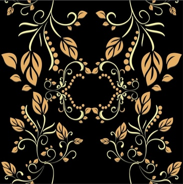european style exquisite pattern vector