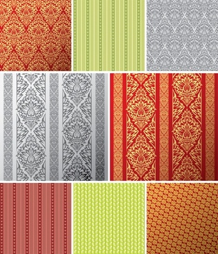 traditional pattern templates elegant repeating symmetric flat decor