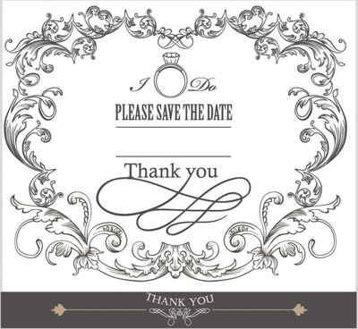 europeanstyle lace border 03 vector