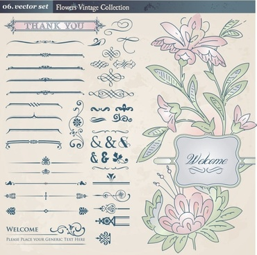 europeanstyle lace pattern 02 vector