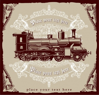 train background elegant vintage design