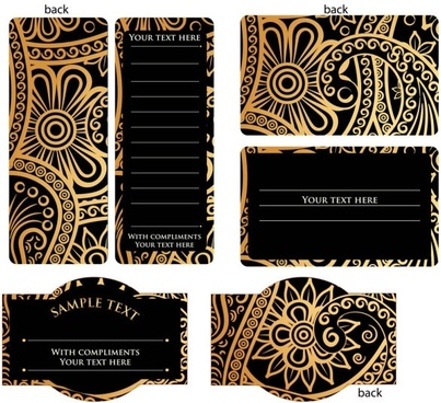 Invitation card free vector download 12970 free vector for europeanstyle simple patterns invitation card 02 vector stopboris Images