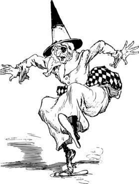 Evil Witch clip art