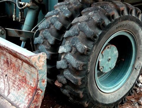 excavators wheel profile