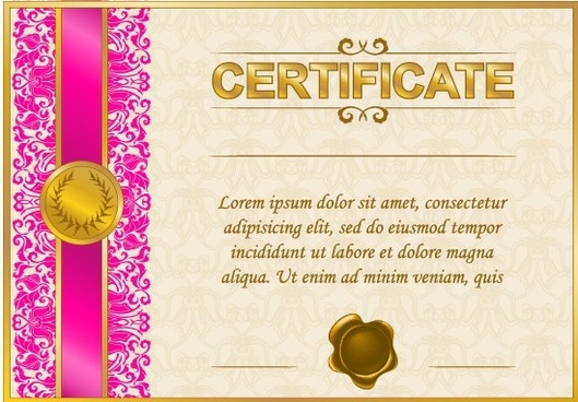 excellent certificate and diploma template design