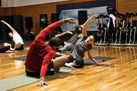 exercise gymnasium exercising