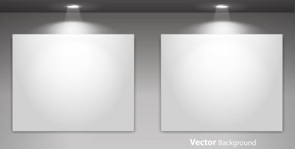 exhibition display 03 vector