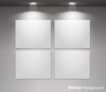 exhibition display 04 vector