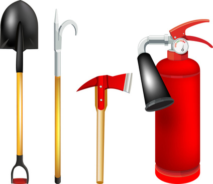 exit firefighting tools