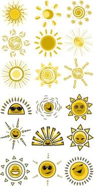 expression vector cute funny sun