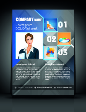 exquisite business flyer template