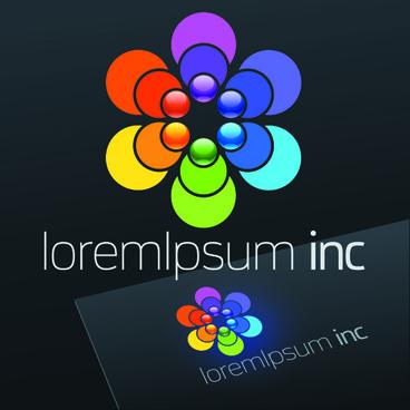 exquisite business logos vector design elements
