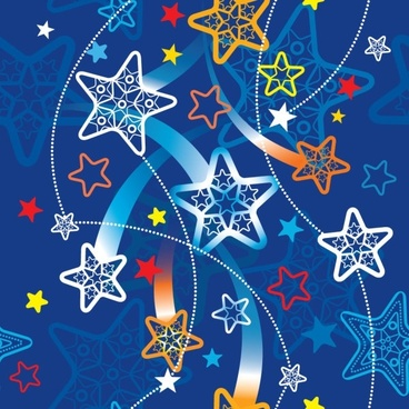 exquisite cartoon pattern background pattern 04 vector