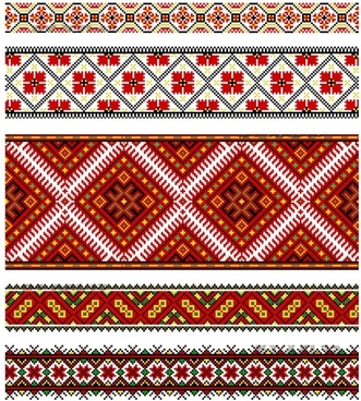 traditional pattern templates flat repeating symmetric decor