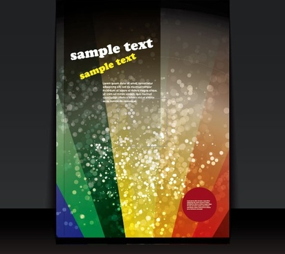 exquisite cover template 05 vector