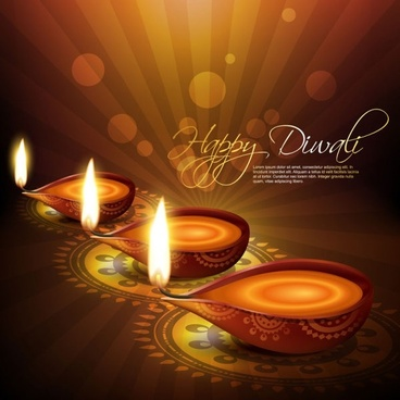 Diwali greetings free vector download 3861 free vector for exquisite diwali background 04 vector m4hsunfo