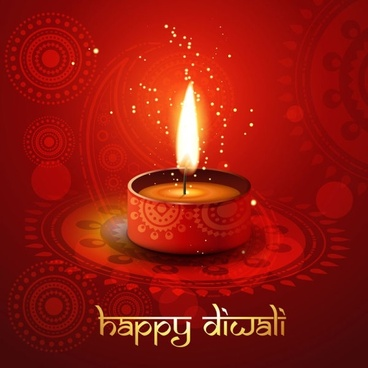 exquisite diwali background 05 vector