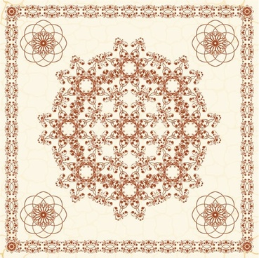 exquisite european pattern 04 vector