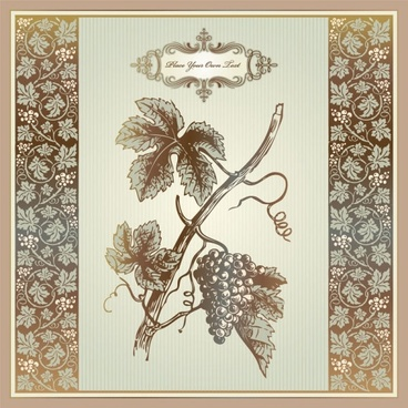 exquisite europeanstyle pattern label 06 vector