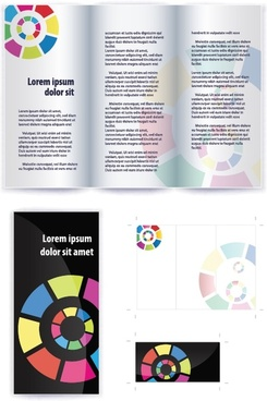 pamphlet design free vector download 72 free vector for commercial