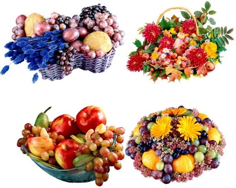 exquisite fruit baskets png