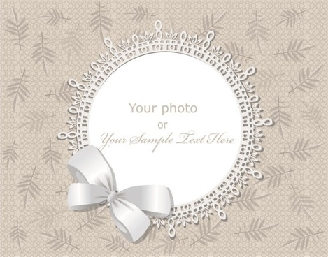 exquisite gift tag 01 vector