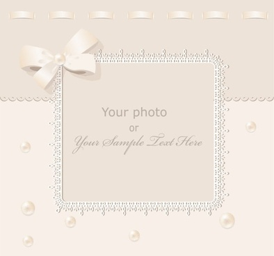 exquisite gift tag 02 vector