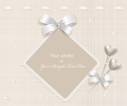 exquisite gift tag 03 vector