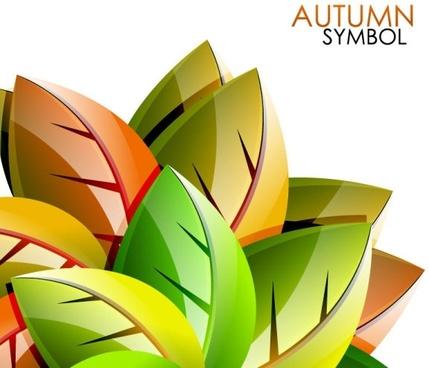 exquisite leaf background 02 vector