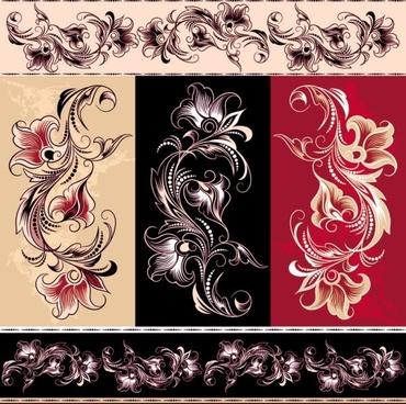 exquisite pattern 01 vector