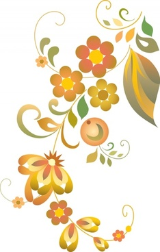nature background flora leaf decor colorful design