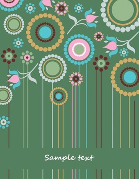 exquisite pattern vector background