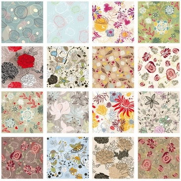 exquisite patterns 02 vector