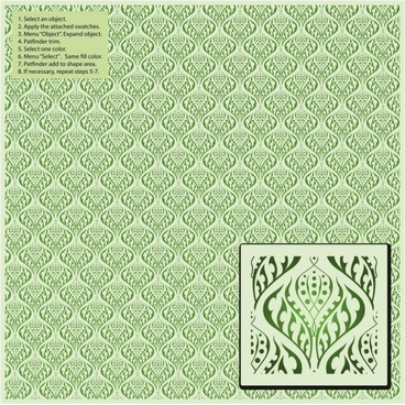 exquisite shading pattern background pattern 05 vector