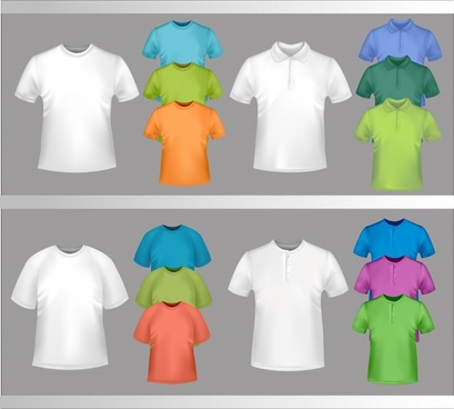 exquisite tshirt template vector