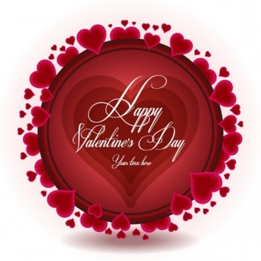 exquisite valentine background 02 vector