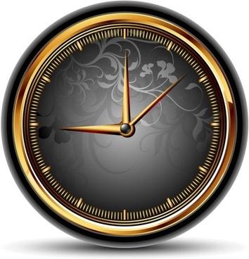 exquisite watches creative background 04 vector