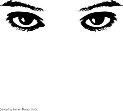 d5009fec769 Cartoon angry eyes clip art free vector download (221,425 Free ...