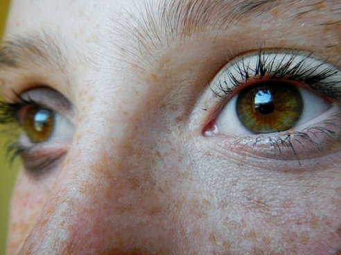 eyes pretty girl