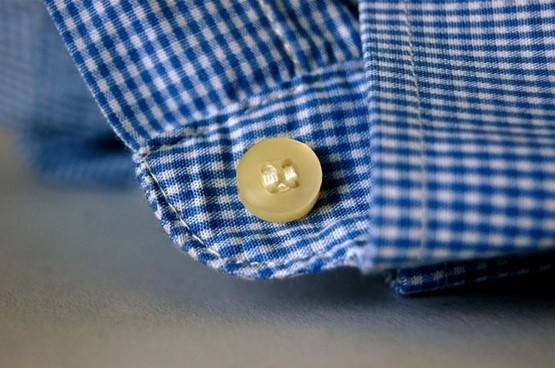 fabric button sew