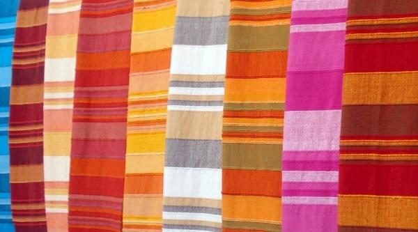 fabrics looms wool