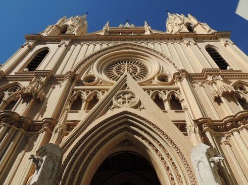 facade gothic churches
