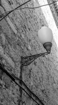 facade lantern brick