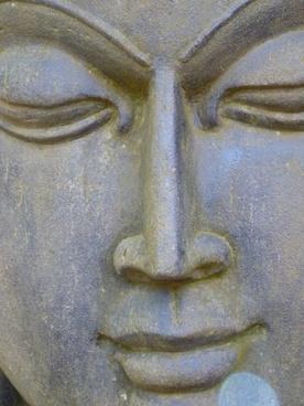 face stone head