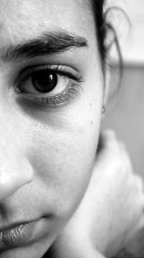 face woman girl
