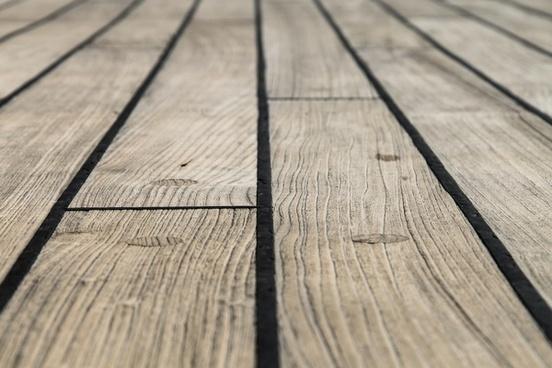 faded wood floor boards