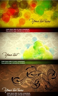 abstract background templates colorful blurred retro decor